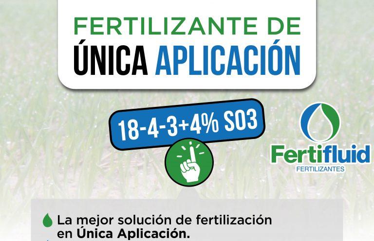Fertifluid, los fertilizantes de única aplicación